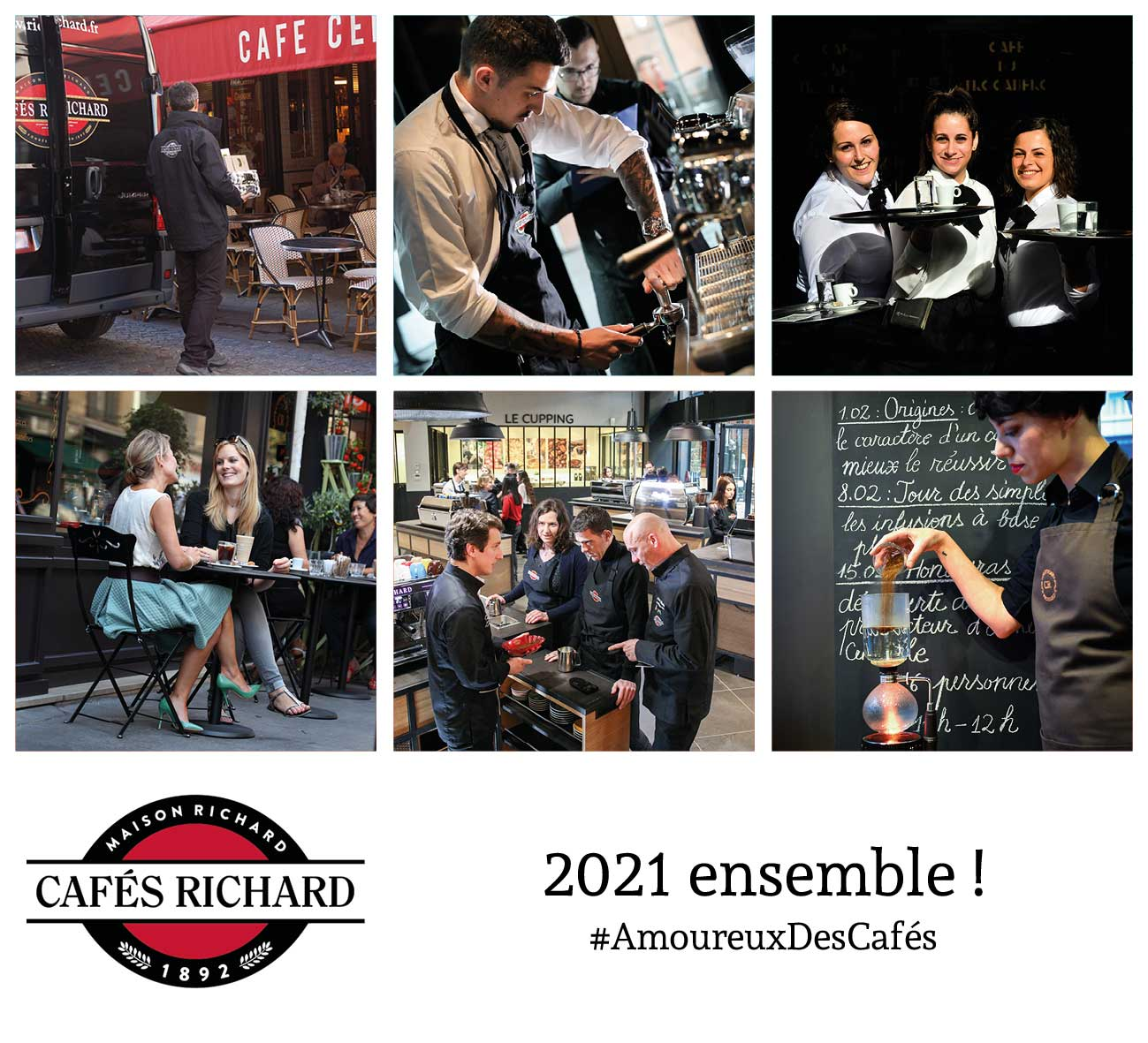 Voeux 2021 Cafés Richard - ensemble !
